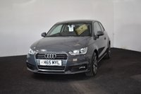 USED 2015 65 AUDI A1 1.6 TDI SPORT 3d 114 BHP LASER CUT ALLOYS+ DAB + £0 TAX + REAR TINTED WINDOWS
