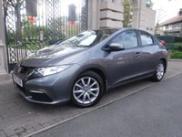 USED 2013 63 HONDA CIVIC 1.3 I-VTEC SE 5d 98 BHP *FINANCE ARRANGED*PART EXCHANGE WELCOME*2 OWNERS FROM  NEW*
