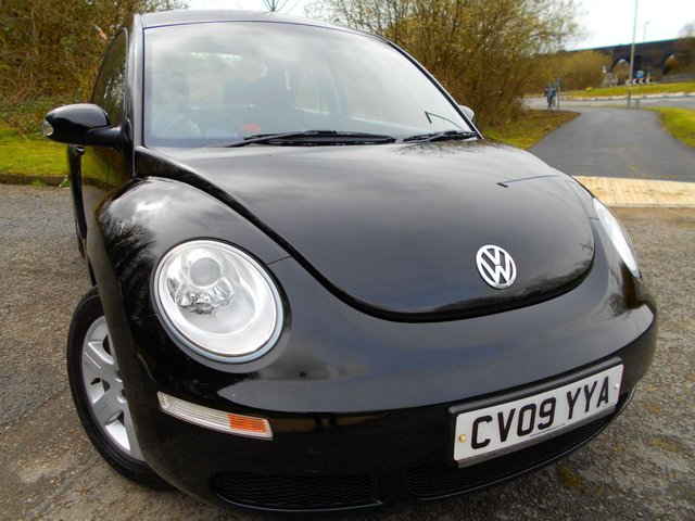 2009 09 VOLKSWAGEN BEETLE 1.6 LUNA 8V 3d 101 BHP ** ONE OWNER FROM NEW , YES ONLY 36K , FANTASTIC VEHICLE THROUGHOUT**