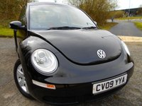 USED 2009 09 VOLKSWAGEN BEETLE 1.6 LUNA 8V 3d 101 BHP ** ONE OWNER FROM NEW , YES ONLY 36K , FANTASTIC VEHICLE THROUGHOUT**