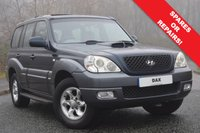 USED 2005 05 HYUNDAI TERRACAN 2.9 CDX CRTD 5d AUTO 161 BHP SPARES OR REPAIRS! 4 NEW TYRES! CAM BELT DONE!