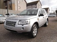 USED 2008 58 LAND ROVER FREELANDER 2.2 TD4 GS 5d 159 BHP PRICED LOW, COMES WITH A YEARS MOT!