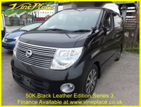 USED 2008 08 NISSAN ELGRAND Highway Star Black Leather Edition Ltd 8 3.5 Auto 8 Seats +50K+FULL HEATED LEATHER+AFS+TWIN POWER DOORS+