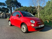 USED 2012 12 FIAT 500 1.2 LOUNGE 3d 69 BHP LOUNGE SPEC, GLASS ROOF, LOW MILES, £20 A YEAR ANNUAL ROAD TAX, FINANCE AVAILABLE, READY TO GO!!!