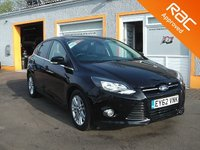 USED 2012 62 FORD FOCUS 1.0 TITANIUM 5d 124 BHP 5 Stamps in the service book, Bluetooth Technology, Front and Rear Parking sensors