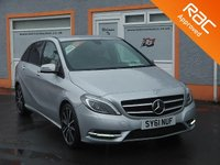 "USED 2012 61 MERCEDES-BENZ B-CLASS 1.8 B200 CDI BLUEEFFICIENCY SPORT 5d AUTO 136 BHP Heated leather Seats, Reversing Camera, 18"" Alloys, Cruise Control"
