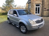 USED 2005 55 SSANGYONG REXTON 3.2 RX 320 SX 5 5d 218 BHP