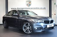 USED 2013 13 BMW 3 SERIES GRAN TURISMO 2.0 320D M SPORT GRAN TURISMO 5DR AUTO 181 BHP full service history  *NO ADMIN FEES* FINISHED IN STUNNING MINERAL METALLIC GREY WITH FULL BLACK LEATHER INTERIOR + FULL SERVICE HISTORY + SATELLITE NAVIGATION + BLUETOOTH + CRUISE CONTROL + HEATED SPORT SEATS + M SPORT PACKAGE + LIGHT PACKAGE + PARKING SENSORS + DAB RADIO + 19 INCH SPORT ALLOY WHEELS