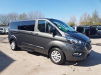 USED 2018 18 FORD TOURNEO CUSTOM T320 L.W.B LASTEST MODEL TOURNEO 2018/18 REG  ( NEW MODEL TOURNEO 2018 REG BUS 14500 MLS )