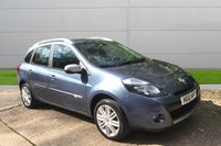 USED 2012 61 RENAULT CLIO 1.2 DYNAMIQUE TOMTOM TCE 5d Estate 1 OWNER LOW MILEAGE, MANY EXTRAS.FINANCE ME TODAY-UK DELIVERY POSSIBLE