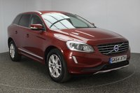 USED 2014 64 VOLVO XC60 2.0 D4 SE LUX 5DR 178 BHP 1 OWNER £30 ROAD TAX SERVICE HISTORY + £30 12 MONTHS ROAD TAX + HEATED LEATHER SEATS + PARKING SENSOR + BLUETOOTH + CRUISE CONTROL + MULTI FUNCTION WHEEL + XENON HEADLIGHTS + DAB RADIO + CLIMATE CONTROL + 18 INCH ALLOY WHEELS