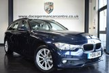 USED 2016 16 BMW 3 SERIES 2.0 318D SE TOURING 5DR AUTO 148 BHP full bmw service history  *NO ADMIN FEES* FINISHED IN STUNNING IMPERIAL METALLIC BLUE WITH FULL OYSTER LEATHER INTERIOR + FULL BMW SERVICE HISTORY + SATELLITE NAVIGATION + PARKING SENSORS + RAIN SENSOR + ALLOY WHEELS