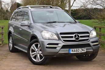 2010 MERCEDES-BENZ GL CLASS 4.0 GL450 CDI 5d AUTO 306 BHP £9750.00