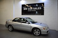 2002 SUBARU IMPREZA 2.0 WRX TURBO AWD 4d 218 BHP £6491.00