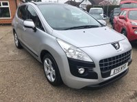 USED 2011 11 PEUGEOT 3008 1.6 ENVY 5d 120 BHP 1 OWNER! FULL PEUGEOT SERVICE HISTORY!
