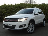 USED 2011 61 VOLKSWAGEN TIGUAN DIESEL MANUAL SAT NAV 4 MOTION 55,000 MILES PART EXCHANGE AVAILABLE / ALL CARDS / FINANCE AVAILABLE