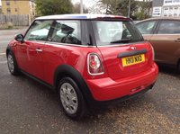 USED 2011 11 MINI HATCH FIRST 1.6 FIRST 3d 75 BHP UNION JACK + MIRRORS