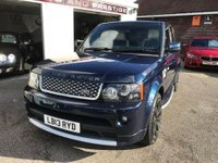 USED 2013 13 LAND ROVER RANGE ROVER SPORT 3.0 SD V6 Autobiography Sport 4X4 5dr AUTOBIOGRAPHY