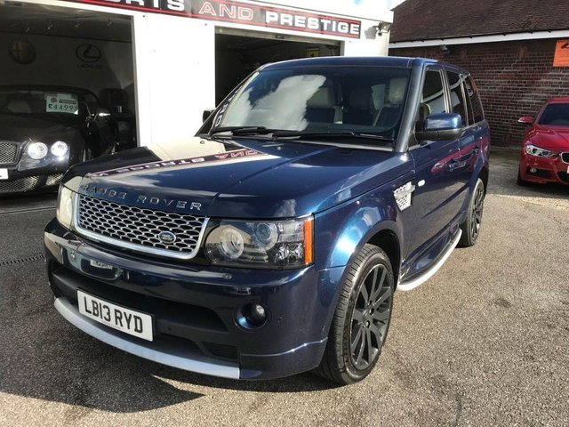 LAND ROVER RANGE ROVER SPORT at Euxton Sports and Prestige