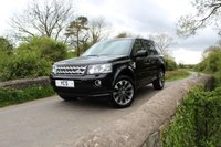 2013 LAND ROVER FREELANDER 2 2.2 SD4 HSE LUXURY 5d AUTO 190 BHP (FREE 2 YEAR WARRANTY) £16000.00