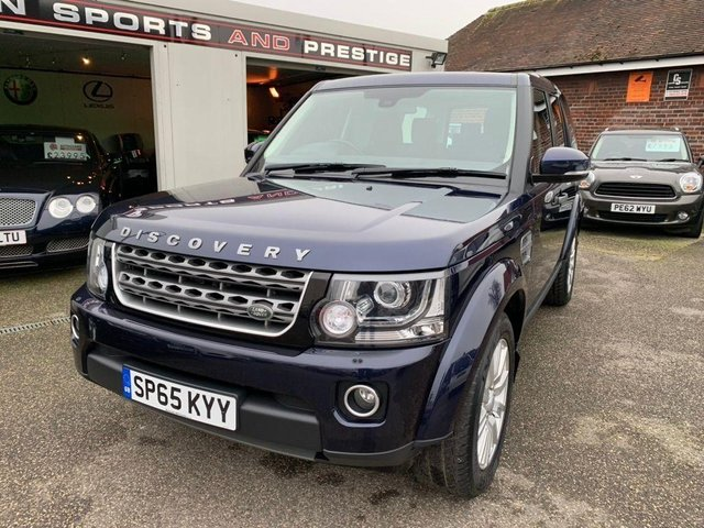 LAND ROVER DISCOVERY at Euxton Sports and Prestige