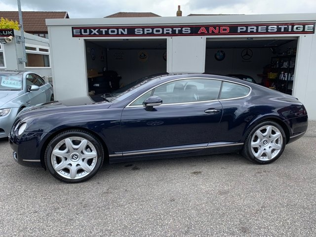 BENTLEY CONTINENTAL at Euxton Sports and Prestige