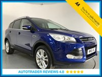 USED 2016 16 FORD KUGA 1.5 TITANIUM X 5d AUTO 180 BHP SAT NAV - FDSH - ONE OWNER - DAB - CRUISE CONTROL - CD PLAYER - PAN - REAR PARKING SENSOR - ISO FIX
