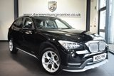 USED 2015 15 BMW X1 2.0 XDRIVE18D XLINE 5DR 141 BHP full bmw service history  *NO ADMIN FEES* FINISHED IN STUNNING BLACK WITH FULL BLACK LEATHER INTERIOR + FULL BMW SERVICE HISTORY + HEATED SEATS + PARKING SENSORS + RAIN SENSOR + ALLOY WHEELS