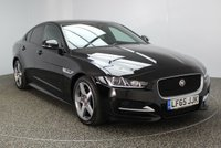 USED 2015 65 JAGUAR XE 2.0 R-SPORT 4DR 178 BHP £20 ROAD TAX FULL JAGUAR SERVICE HISTORY + £20 12 MONTHS ROAD TAX + HEATED LEATHER SEATS + SATELLITE NAVIGATION + PARKING SENSOR + BLUETOOTH + CRUISE CONTROL + MULTI FUNCTION WHEEL + CLIMATE CONTROL + PRIVACY GLASS + XENON HEADLIGHTS + DAB RADIO + ELECTRIC WINDOWS + ELECTRIC MIRRORS + 18 INCH ALLOY WHEELS