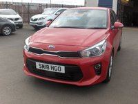 USED 2018 18 KIA RIO 1.4 2 5d 98 BHP BALANCE OF MANUFACTURERS SEVEN YEAR WARRANTY