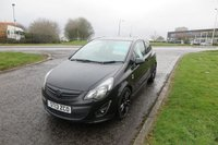 """2013 VAUXHALL CORSA 1.2 LIMITED EDITION 3d 17""""Alloys,Cruise Control,F.S.H £5350.00"""