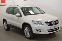 USED 2011 60 VOLKSWAGEN TIGUAN 2.0 MATCH TDI 4MOTION 5d 138 BHP LOW MILES + SERVICE HISTORY + 4MOTION + LEATHER