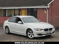 USED 2013 13 BMW 3 SERIES 320D (SAT NAV) EFFICIENTDYNAMICS 4dr SATELLITE NAVIGATION + BLUETOOTH + £20 ROAD TAX