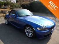 USED 2006 56 BMW Z4 2.0 Z4 SE ROADSTER 2d 148 BHP One Owner From New!! Full Leather Seats, Alloy Wheels