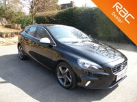 USED 2016 16 VOLVO V40 2.0 T2 R-DESIGN 5d 120 BHP Half Leather Heated Seats, Alloy Wheels, Rear Parking Sensors, Bluetooth
