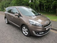 2012 RENAULT GRAND SCENIC 1.5 DYNAMIQUE TOMTOM ENERGY DCI S/S 5d 110 BHP £6500.00