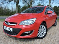 USED 2013 13 VAUXHALL ASTRA 2.0 ELITE CDTI 5d AUTO 163 BHP LEATHER HEATED SEATS/ CLIMATE CONTROL/ CRUISE CONTROL/ PARKING SENSORS/ BLUETOOTH/ 1 OWNER/ FULL SERVICE HISTORY/ 1 YEAR MOT/ , WARRANTY, 2 KEYS, HPI CLEARED
