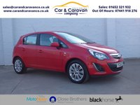 USED 2013 63 VAUXHALL CORSA 1.2 SE CDTI ECOFLEX 5d 93 BHP Full Service History Air Con Buy Now, Pay Later Finance!