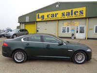 2011 JAGUAR XF 2.2 D LUXURY 4d AUTO 190 BHP £9995.00