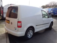 USED 2013 13 VOLKSWAGEN CADDY 1.6 C20 TDI HIGHLINE 1d AUTO 101 BHP