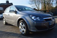 USED 2007 07 VAUXHALL ASTRA 1.4 CLUB 16V TWINPORT 5d 90 BHP