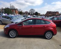 USED 2012 62 FORD FOCUS TITANIUM X MOT 27th March 2020 (No Advisories).... Full Service History (6 Services)....One Private Owner From New.... 180 BHP Model.... Xenon Lights.... DAB Stereo with Bluetooth.... Cruise Control.... Warranty with Recovery Included