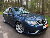 USED 2008 08 SAAB 9-3 1.9 AERO TTID 4d 180 BHP 1 FORMER KEEPER FULL HISTORY , REVERSE PARK LEATHER ELECTRIC HEATED SEATS