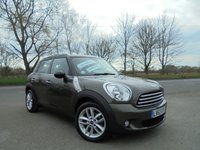USED 2013 63 MINI COUNTRYMAN 2.0 COOPER D 5d AUTO 110 BHP