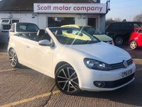 USED 2011 61 VOLKSWAGEN GOLF 1.4 GT TSI Convertible