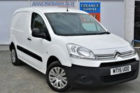 USED 2015 15 CITROEN BERLINGO 1.6 850 ENTERPRISE HDI Great Value for Money Panel Van with only One Former Keeper PREVIOUSLY LOCALLY OWNED