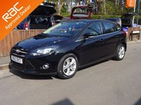 USED 2012 12 FORD FOCUS 1.6 ZETEC 5dr, Automatic GREAT SERVICE HISTORY, 12 MONTHS MOT, PARKING SENSORS