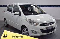 USED 2012 12 HYUNDAI I10 1.2 ACTIVE 5d 85 BHP (ONLY 5,000 MILES - ONE OWNER)