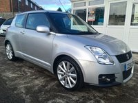 USED 2011 61 SUZUKI SWIFT 1.6 SPORT 3d 125 BHP