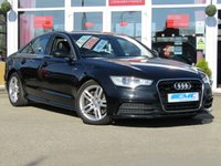 USED 2013 62 AUDI A6 3.0 TDI QUATTRO S LINE 4d AUTO 245 BHP STUNNING, AUDI A6 3.0 TDI, S/LINE, QUATTRO AUTO, Finished in PHANTOM BLACK PEARL with contrasting HEATED EBONY LEATHER Trim. This is an upmarket saloon that makes a very comfortable, spacious, high-tech, safe (4x4) and posh addition to the family. Features include SAT NAV, LEATHER, LED RUN LIGHTS, B/TOOTH and much more.